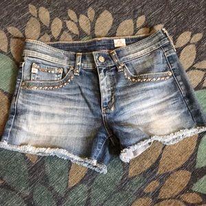 AG cut off shorts